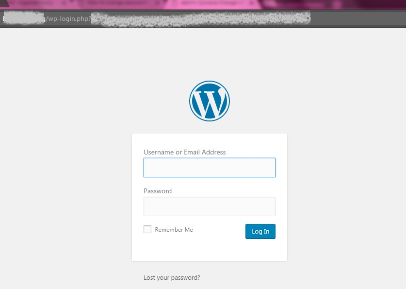 How to change the URL of the WordPress admin panel